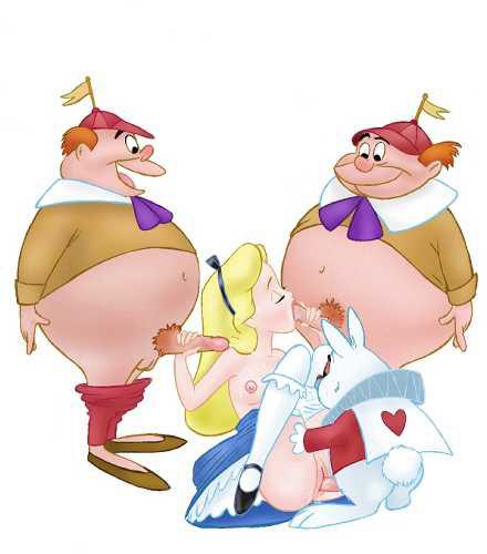 Alice In Wonderland Porno