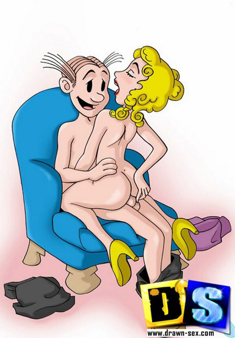 blondie having sex cartoon