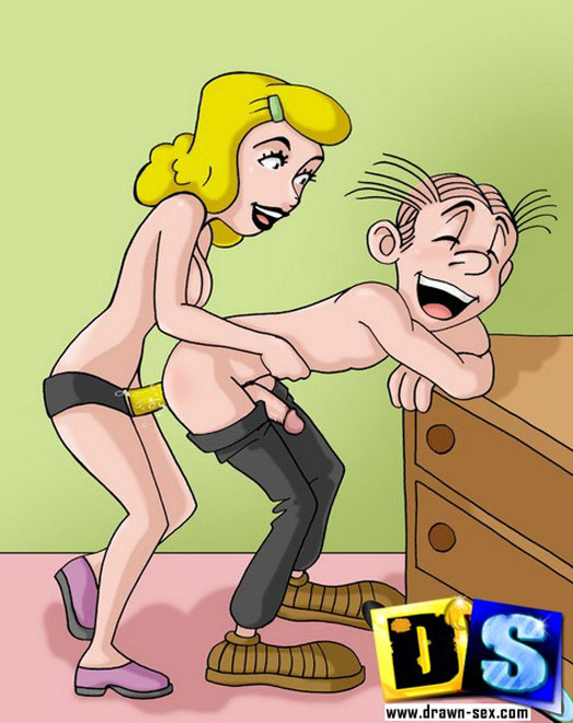 Dagwood and blondie bumstead sex with you