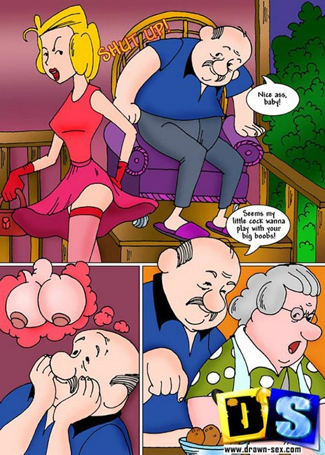 Dennis the menace porn comic
