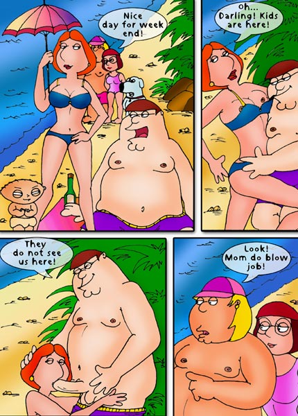 6 Family Guy sex comics pages. posted in Family Guy |. DrawnSex presents: