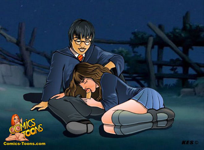 cartoon porn of harry potter