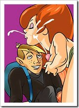 Kim Possible was ripped apart on ass