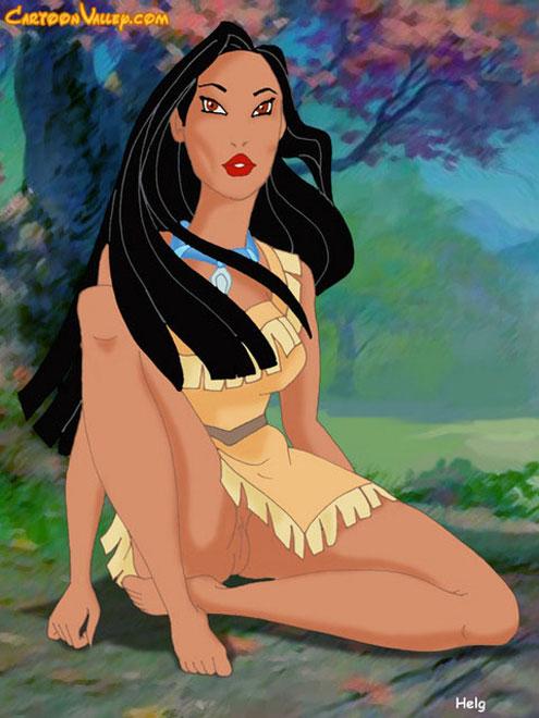 Adult Pocahontas 42