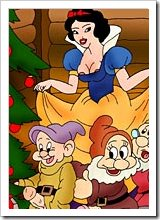 SnowWhite banged by Seven dwarfs and gets cum blasted