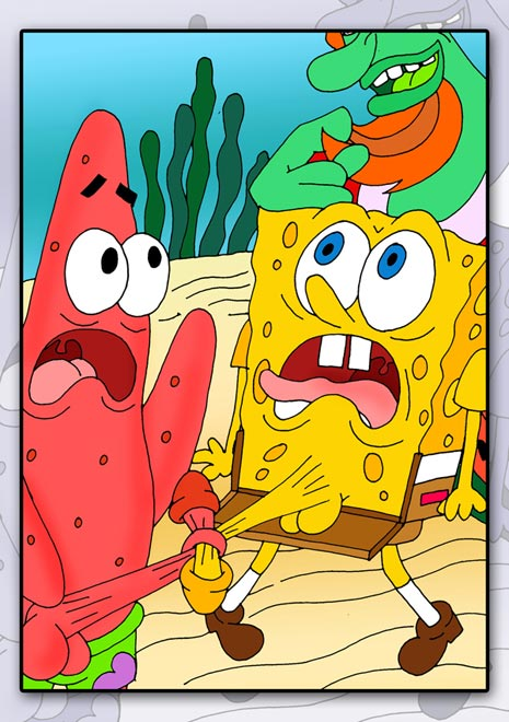 spongebob squarepants uncensored sex
