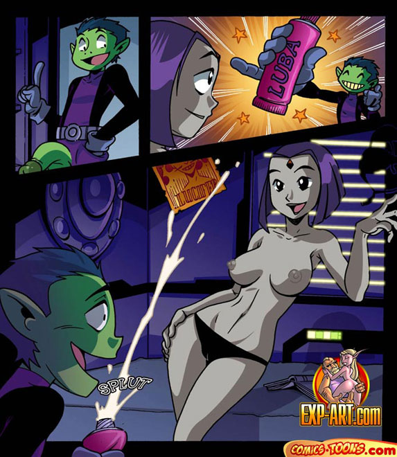 Teen titans animated porn women!