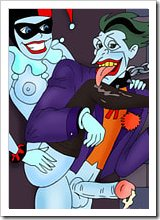 Cat woman with nice nipples getting penetrated in slit by perverted Joker