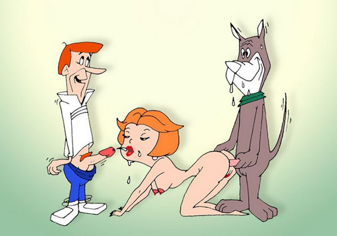 Jetsons cartoon sex think