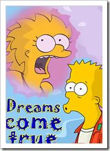 Lisa Simpson with hard dildo gets pumped