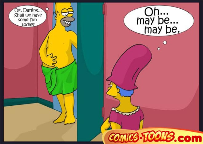 Marge Simpson: The Simpsons 6 hot comics pages >> Hentai and Cartoon Porn ...