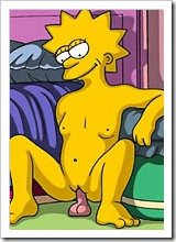Naughty Edna Krabappel in a lingerie getting fucked between tits by heavyweight cock and taking sperm facial