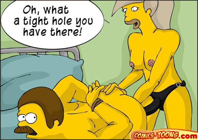 Talk, Sexy the simpsons toons porn can