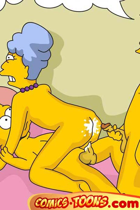 Порно симпсоны сеймур и агнес