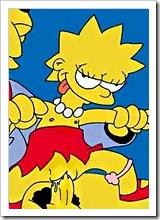 Marge shares cumshot