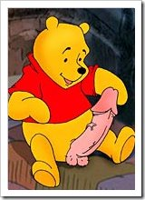 Winnie's girlfriend licks poor Eeyore untill gets her titties poked