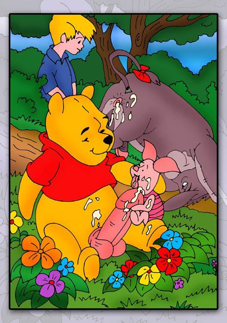 Winnie the pooh cartoon porn comics
