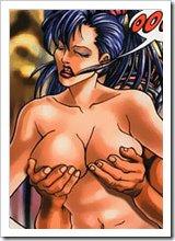 Wanda Maximoff licking Wolverine untill getting poked